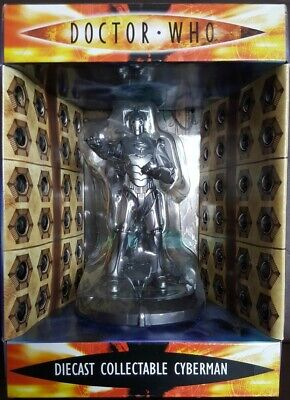 Doctor Dr Who Cyberman Diecast Collectable New In Box • 9.99£