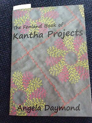 Fenland Book Of Kantha Projects • 4£