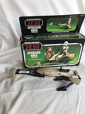 $ CDN101.64 • Buy Vintage Star Wars Speeder Bike Return Of The Jedi 1983 Kenner.