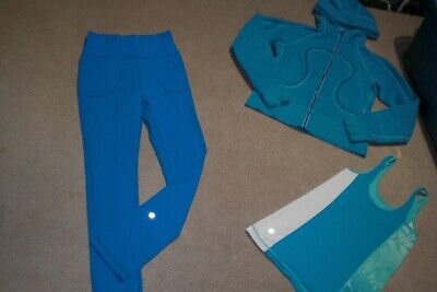 $ CDN70 • Buy  Lot Of Lululemon Will Pants, Rainbow Hoodie And Tank Sz 6