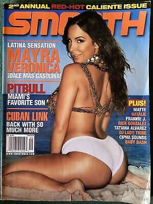 $ CDN18.14 • Buy Smooth Magazine #20 Featuring Mayra Veronica 2nd Annual Red Hot Caliente Issue