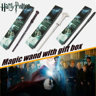 Harry Potter Magic Wand Hermione Dumbledore Voldemort Character Wand With Box • 7.99£