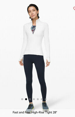 """AU70 • Buy Lululemon Fast And Free High Rise Tight 28"""", Size 0, BNWT"""
