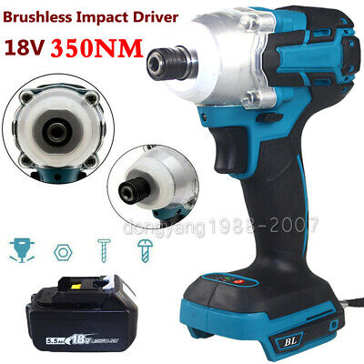 For Makita DTD153Z Cordless Brushless Drill Driver/ 5.0AH Battery / Charger • 51.80£