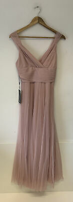 £20.80 • Buy Ever Pretty Pink Bridesmaid/prom/evening Dress - Size 8 - BNWT
