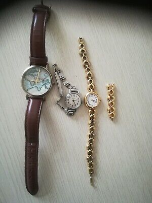 3 Ladies Watches Including Seiko • 1.50£