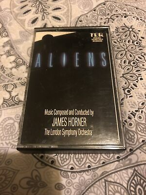 James Camerons Aliens Soundtrack Ter Vintage Uk Issue Cassette Tape James Horner • 29.99£