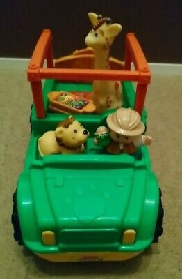 Fisher Price Little People Safari Truck With Figure And Animals  • 2.95£