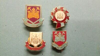 £15 • Buy WEST HAM UNITED FC - Collection Of 4 Badges