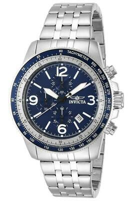 Invicta Specialty 13961 Men's Round Chronograph Date Navy Blue Analog Watch • 25.60£