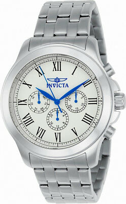 Invicta Specialty 21657 Men's Roman Numeral Day Date 24 Hour Analog Watch • 12.07£