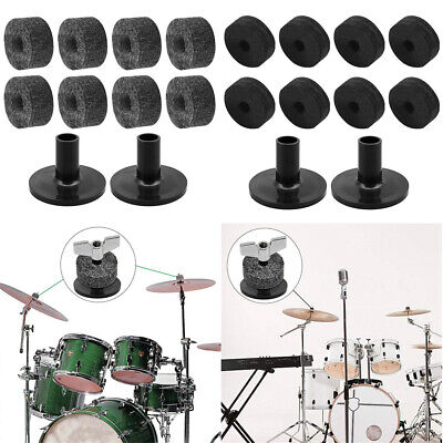 Drum Accessories Set And 2pcs Cymbal Sleeves Wing For Replacement  Parts Hot • 4.34£