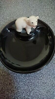 First Series Black Wade Whimtray With Polar Bear Cub • 5£