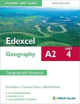 £2.79 • Buy Edexcel A2 Geography Student Unit Guide New Edition: Unit 4 Contemporary Geograp