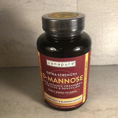AU16.75 • Buy D-Mannose With Cranberry, Healthy Urinary Tract, Bladder, Liver, 120 Capsules