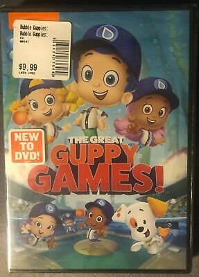 £7.24 • Buy Bubble Guppies: The Great Guppy Games DVD NEW Sealed FREE Shipping!