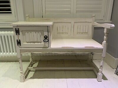 Shabby Chic Telephone Table/ Hall Bench  • 19.99£