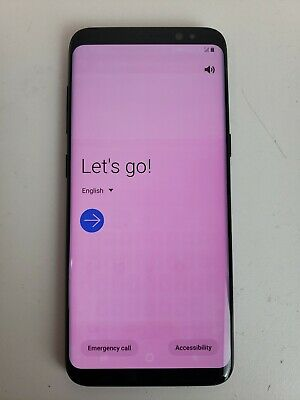 $ CDN1.26 • Buy Samsung Galaxy S8 SM-G950U - 64GB -  Black -  AT&T Unlocked Smartphone
