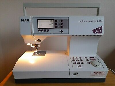 Pfaff Quilt Expression 2044 Sewing Machine, Excellent Condition With Extras • 100£