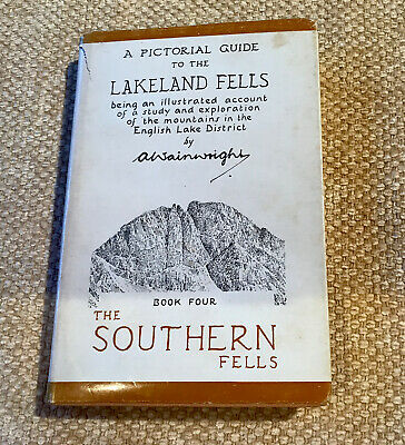 A Pictorial Guide To The Lakeland Fells The Southern Fells A Wainwright Book 4 • 9£