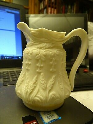 BLUEBELLS & WHEAT Parian Relief Moulded Jug  • 0.99£