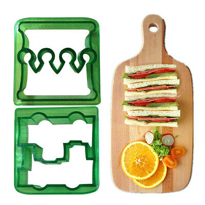 Cute Kids Lunch Food DIY Mould Sandwich Toast Cookies Cake Bread Cutter Mold UK • 4.55£