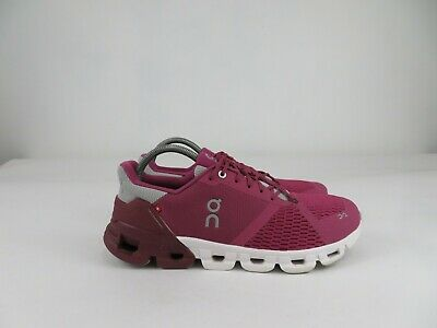 $ CDN149.96 • Buy On Cloud Cloudflyer Athletic Running Shoes Lace Up Pink White Womens Size 11