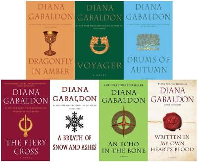 AU74.37 • Buy OUTLANDER Series By Diana Gabaldon MASS MARKET PAPERBACK Collection Of Books 2-8
