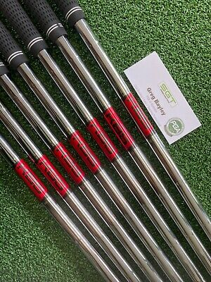 AU279 • Buy KBS Tour V 110 Stiff Shafts 4-P .355 Taper Used 7 Shafts