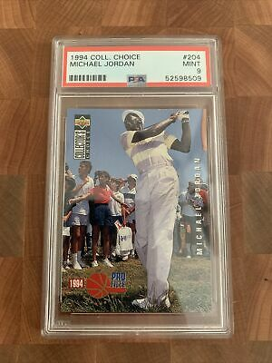 $6.50 • Buy 1994 Upper Deck Collector's Choice Michael Jordan PSA 9 RARE Golf Card