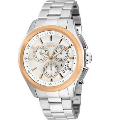Invicta Specialty 30814 Men's Round Rose Gold Bezel Chronograph Analog Watch • 21.21£
