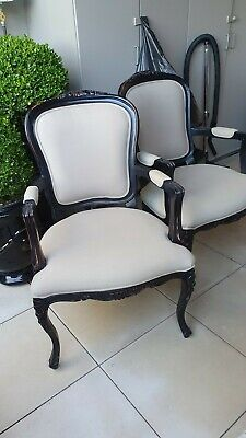 AU375 • Buy Pair Of French Provincial Style Arm Chair