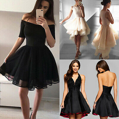 AU19.94 • Buy Lady Wedding Evening Cocktail Formal Ball Prom Gowns Party Short Skater Dress '