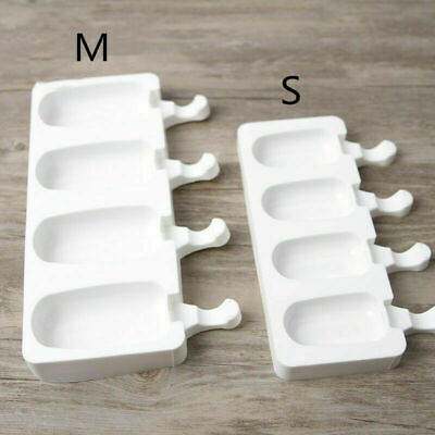 DIY Silicone Ice Cream Cake Mold Ice Lolly Baking Frozen Mould Tray Fridge Tool • 5.58£