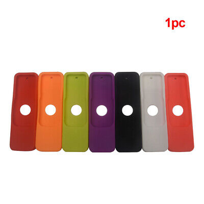 AU4.97 • Buy Fashion Accessories Durable Dustproof Remote Control Cover Solid For Apple TV 4