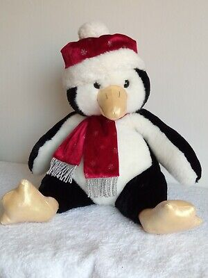 Penny Penguin Large Soft Toy 17  Christmas Tesco Chilly & Friends • 6£