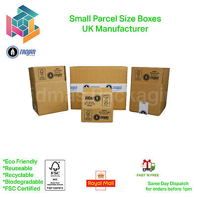 Ebay Packing Boxes Postal Mailing Cardboard Boxes - Multi Listing • 10.97£