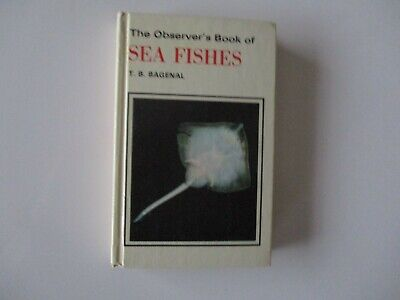 The Observer's Book Of Seafishes - 1979 • 3.99£