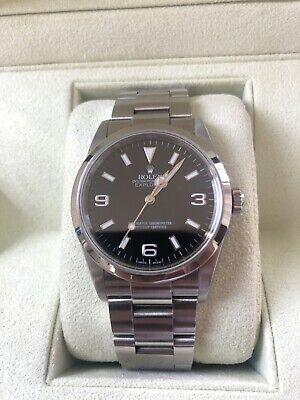$ CDN9304.52 • Buy Rolex Explorer1 114270 D Number Automatic Box And Papers