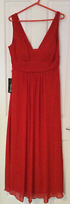 EVER PRETTY Ladies Red Sleeveless Occasion Dress BNWT Size 18 - J5 • 5.50£