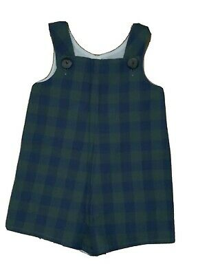 AMAIA Boys Checked Overalls Romper 2 Years Boys Children  • 20£