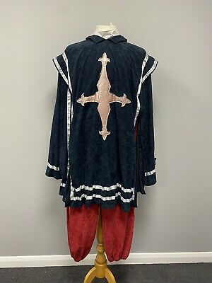 Medieval Musketeer NO HAT Size Medium - Period Costume, Cosplay, Tudor Ex Hire • 30£