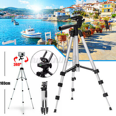 AU13.47 • Buy Professional Camera Tripod Stand Mount Phone Holder For Samsung 20 For IPhone