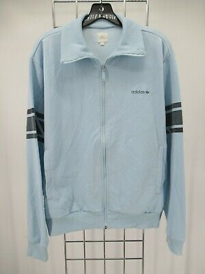 $ CDN12.70 • Buy I9555 VTG Adidas Trefoil Full-Zip Sports Track Jacket Size L