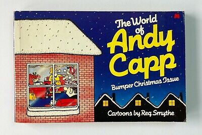 Andy Capp Bumper Christmas Issue Vintage Comic Book By Reg Smythe Paperback 1981 • 2.60£