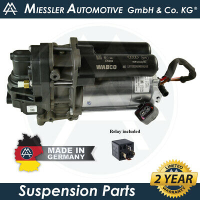$ CDN706.14 • Buy Audi Q8 (4M) 2018-2020 NEW Air Suspension Compressor & Relay 4M0616005
