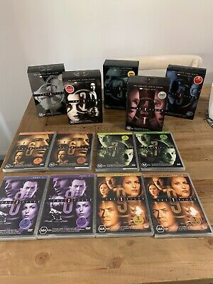AU130 • Buy The X Files Season 1-9 Dvd Collectors Edition Boxed Sets