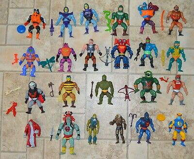 $629.95 • Buy MOTU, He-Man Figures Lot Vintage Masters Of The Universe Weapons Set Thundercats