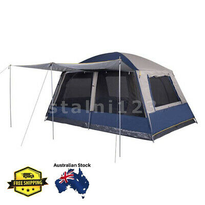 AU379 • Buy Oztrail Hightower Mansion 10 Person Tent Camping Outdoors 4WD Swag Bush