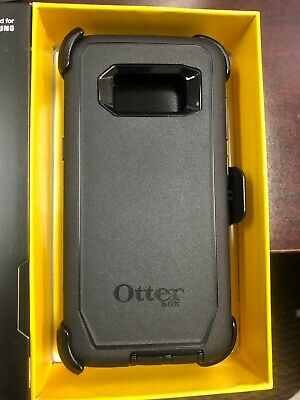 $ CDN26.30 • Buy Otterbox Defender SERIES CASE Cover Holster Black 77-54515 FOR Samsung Galaxy S8